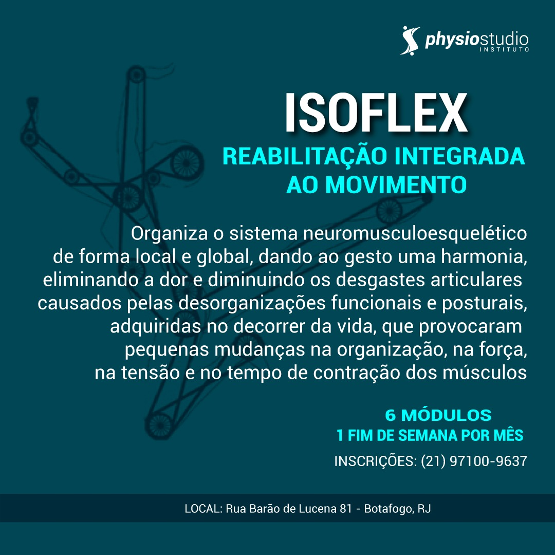 Curso Isoflex – Reabilitação Integrada do Movimento
